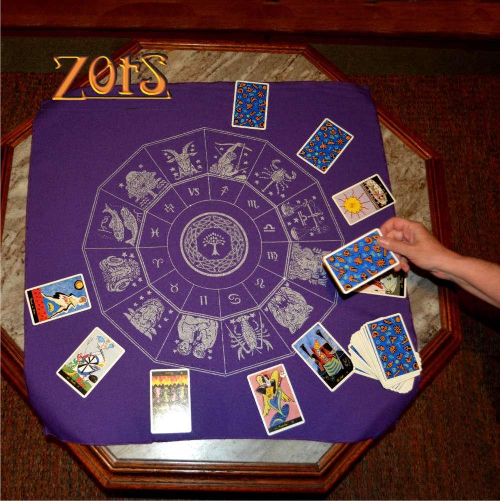 Toalha do Zodíaco - roxa  -  Zots