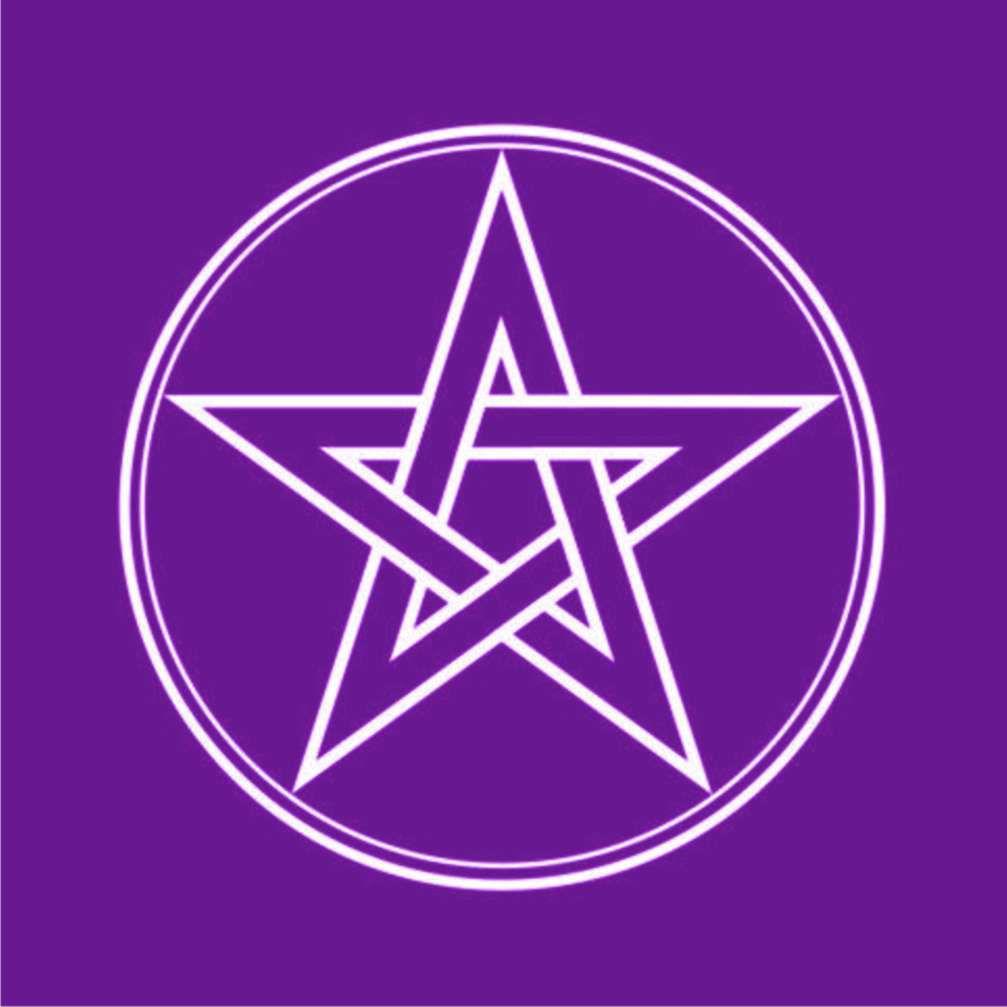 Toalha Pentagrama Roxa  -  Zots