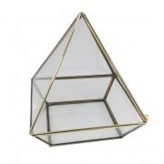 Terrário Pirâmide Base Quadrada  G