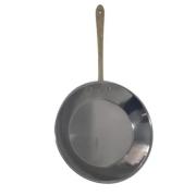 Frigideira em inox cobreada (c/ cabo em liga de bronze) G