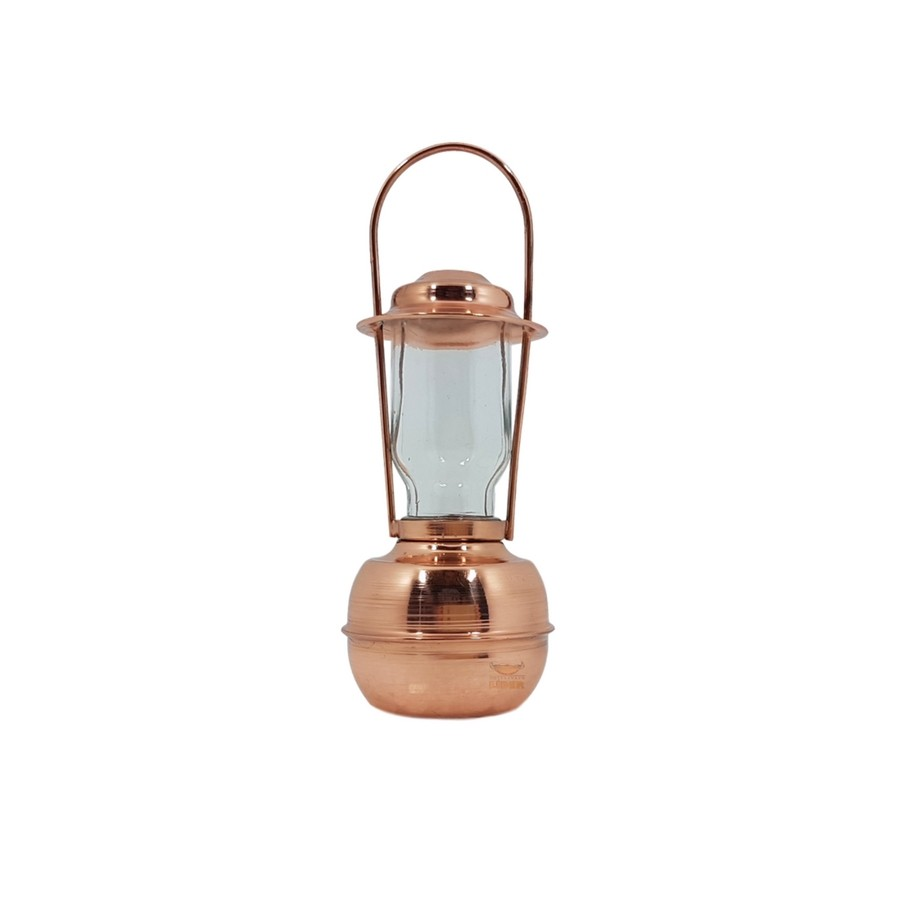 Lampião em cobre miniatura