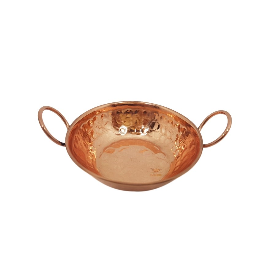 Tachinho em cobre 8 cm miniatura (Alças de Cobre)