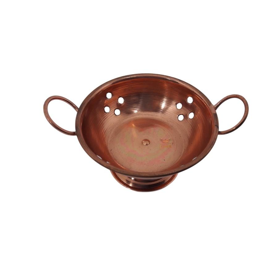 Escorredor em cobre miniatura