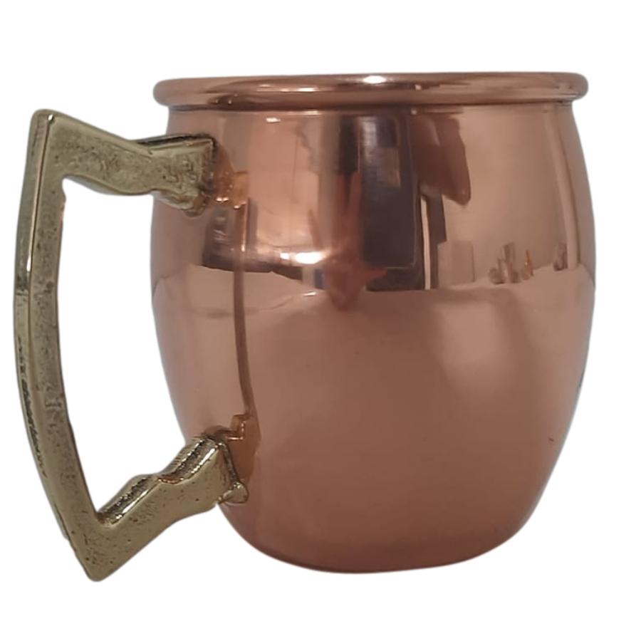 Caneca Moscow Mule Barril Com Borda (Lisa) - 200 ml