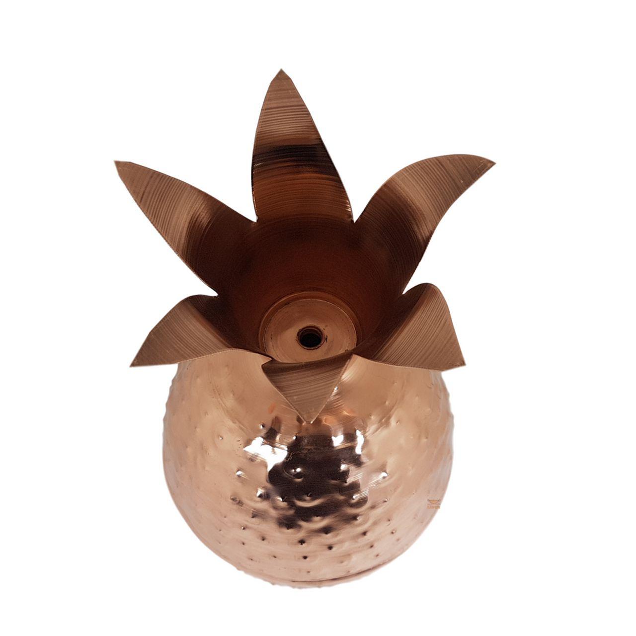 Abacaxi Decorativo em Cobre G