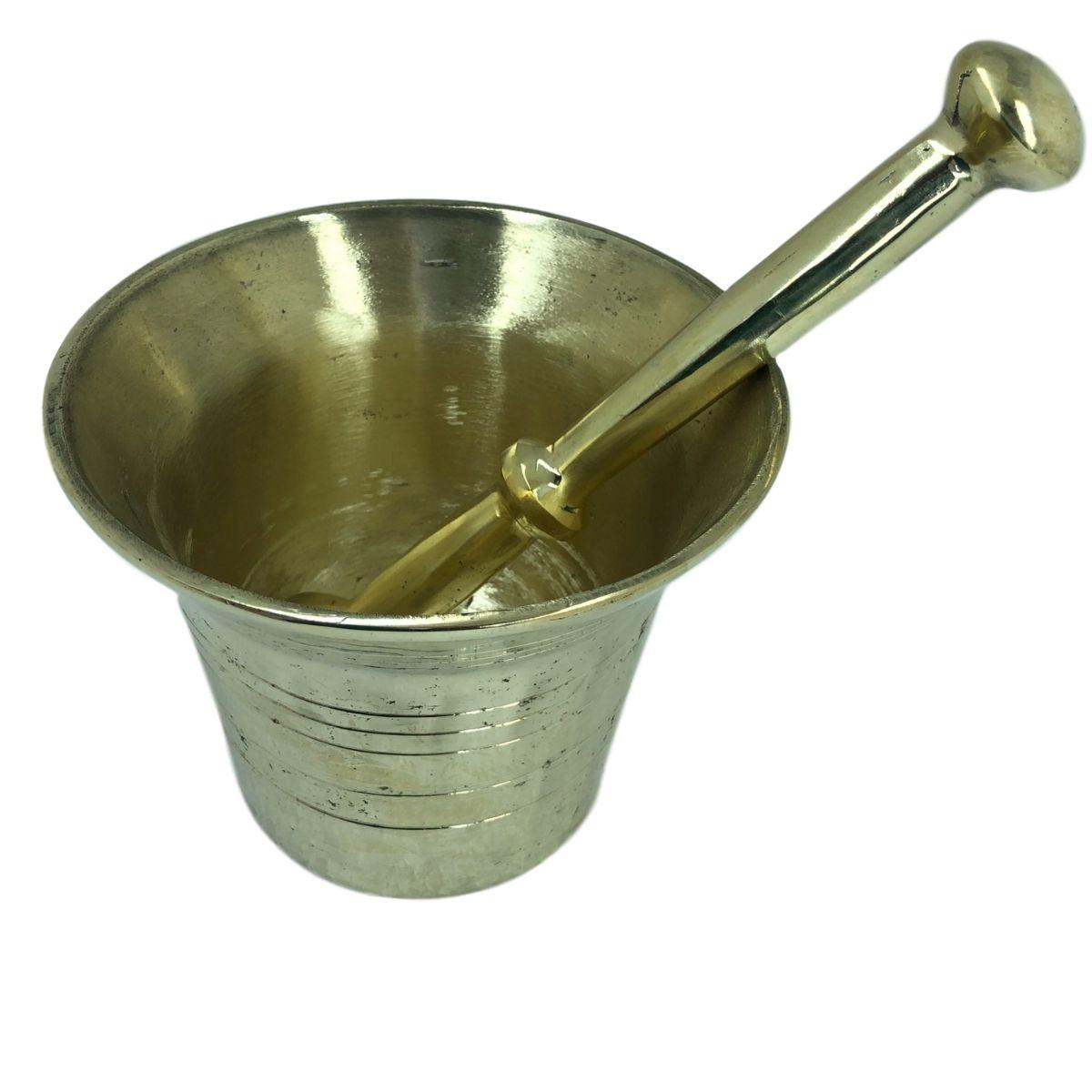 Almofariz em liga de Bronze G