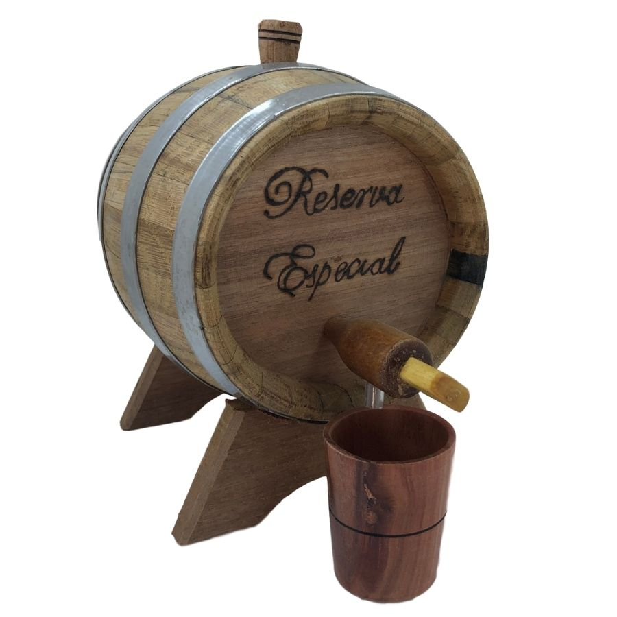 Barril de Madeira Carvalho 1 Litro