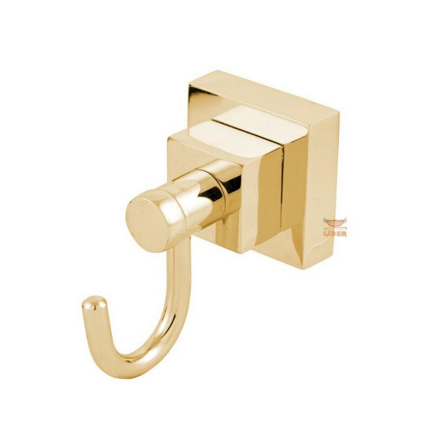 Cabide Luxo Dourado Para Banheiro