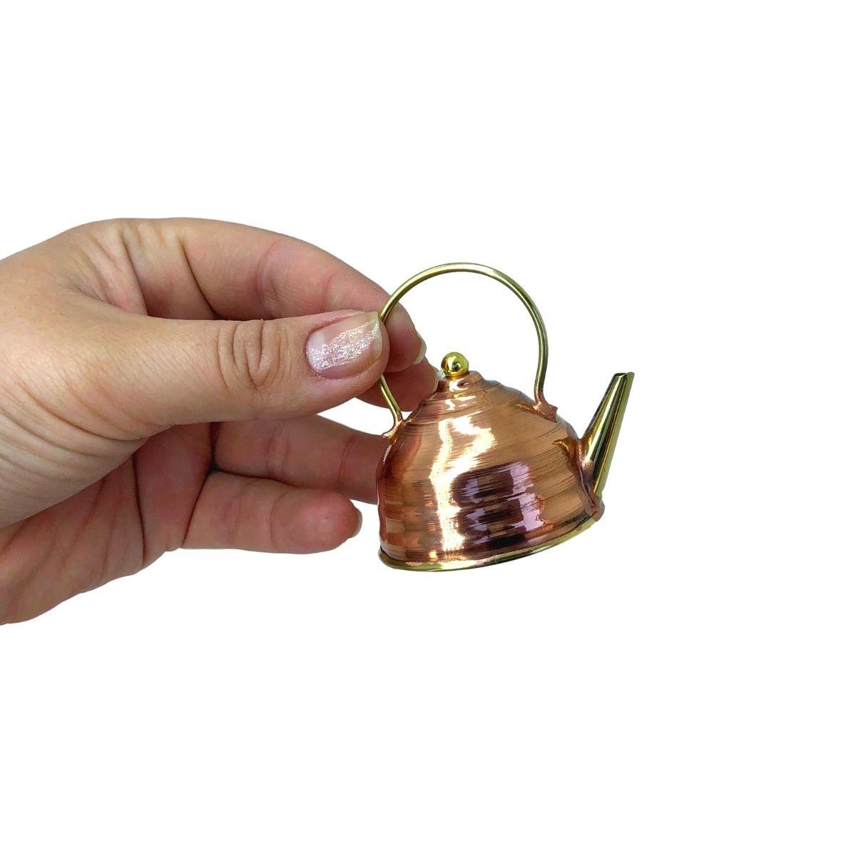 Chaleira em Cobre Miniatura Mod. 2