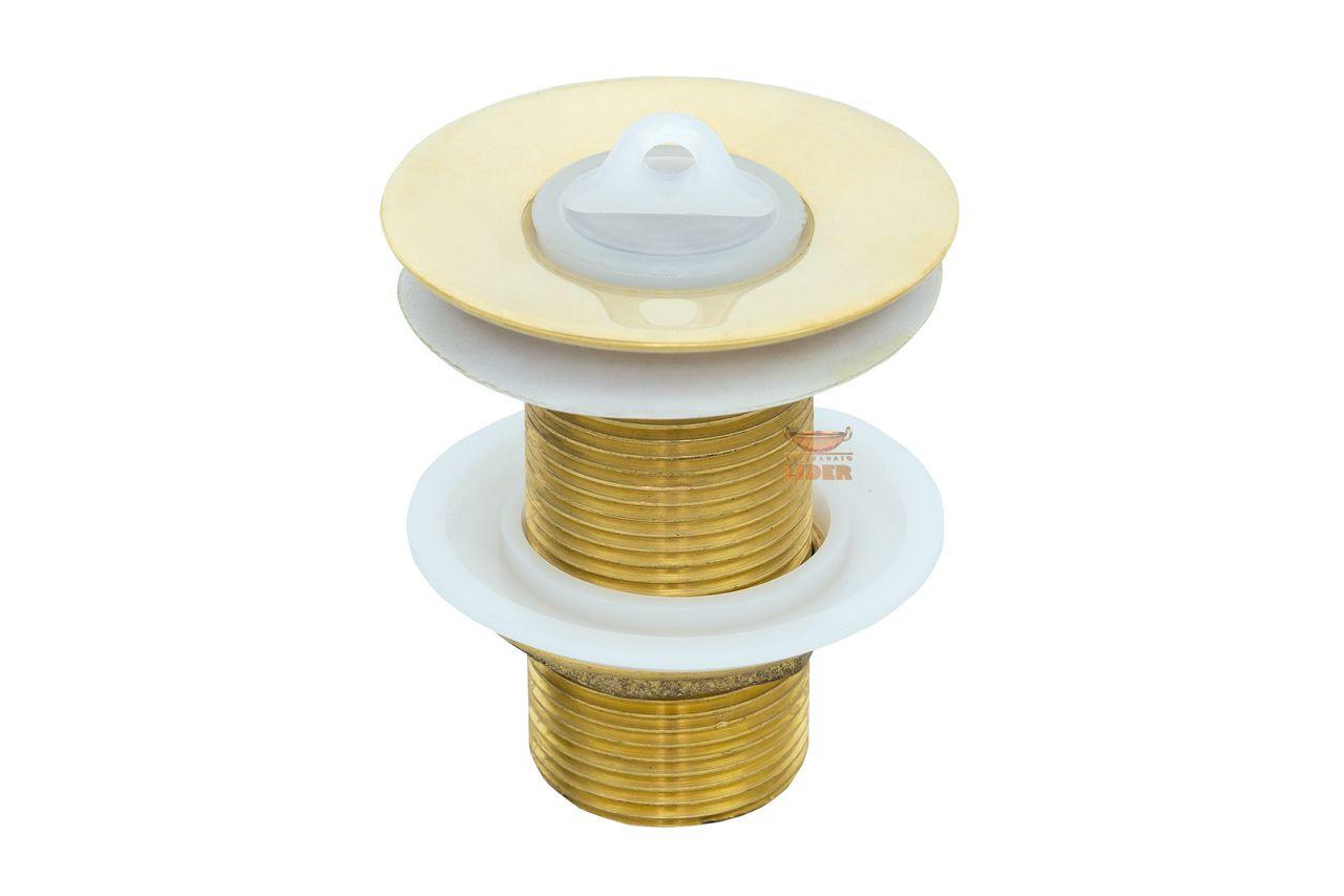 Cuba Dourada Martelada 34 cm de diâmetro com Válvula