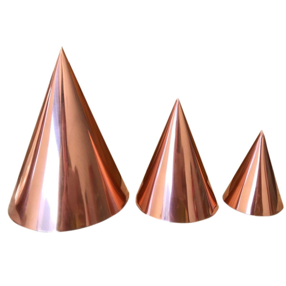 Kit 3 Cones para Radiestesia e Radiônica