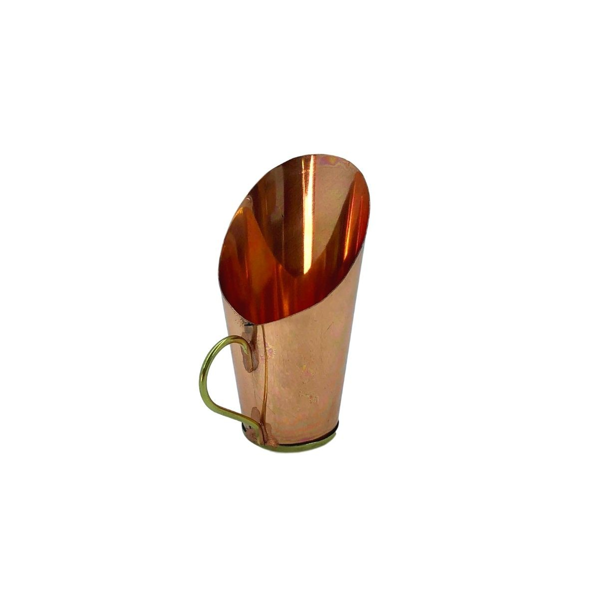 Kit com 13 Miniaturas em cobre com detalhe em latão