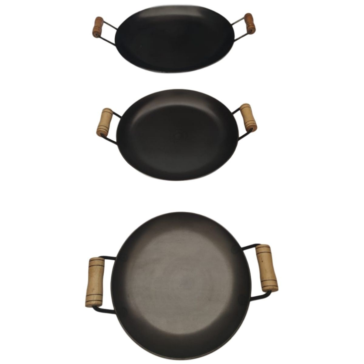 kit de disco chapa bifeteira Redonda De Ferro Fundido - P, M, G