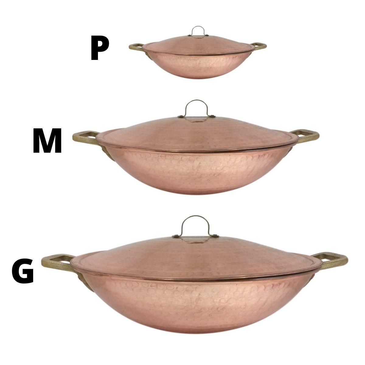 Kit Panelas wok P,M,G