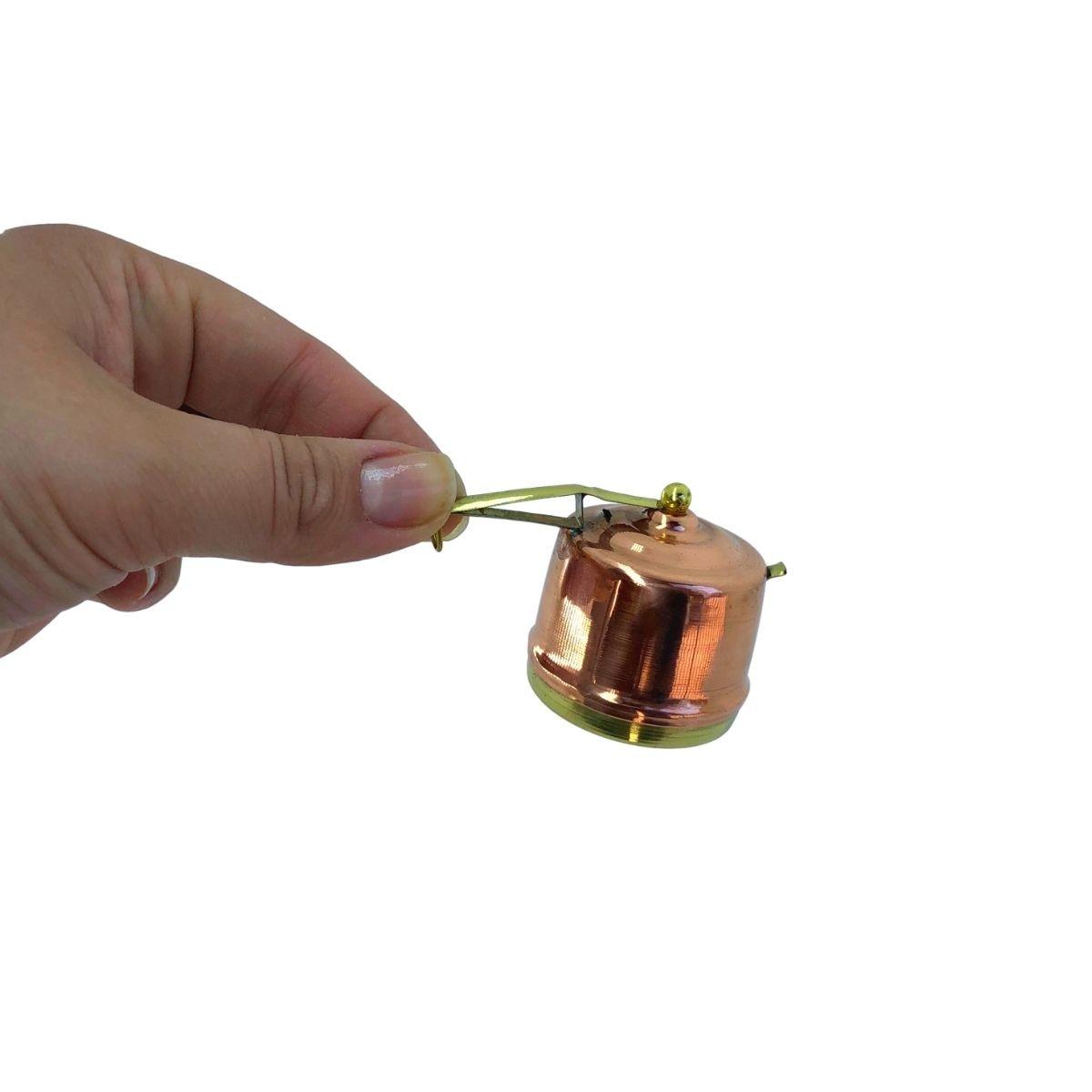 Panela de Pressão Miniatura em Cobre Mod. 2
