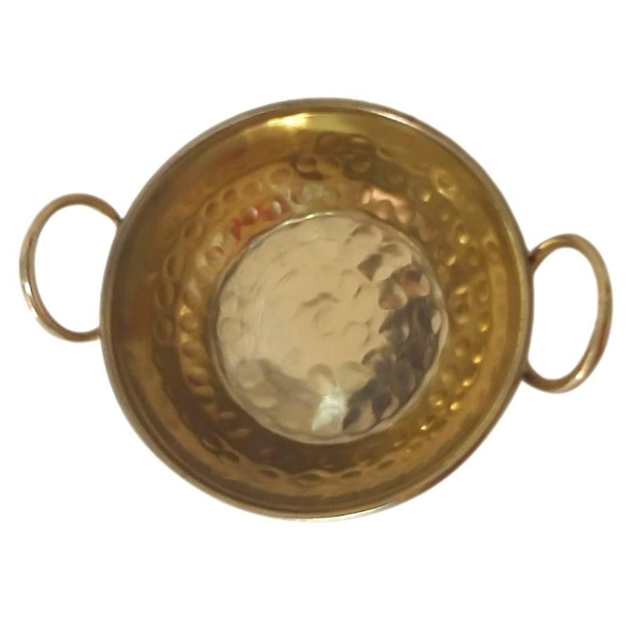 Tachinho de latão Miniatura / 8 cm