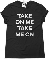 Camiseta e bolsa A-HA - Take on me
