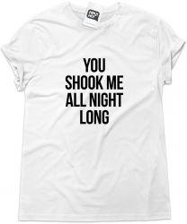 Camiseta e bolsa AC/DC - You Shook Me All Night Long