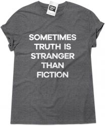 Camiseta e bolsa BAD RELIGION - Sometimes truth is stranger than fiction