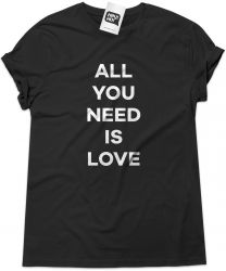 Camiseta e bolsa BEATLES - All you need is love