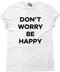 Camiseta e bolsa BOB MARLEY - Don't worry Be happy