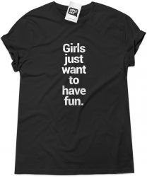 Camiseta e bolsa CYNDI LAUPER - Girls Just Want to Have Fun