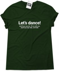Camiseta e bolsa DAVID BOWIE - Let's dance