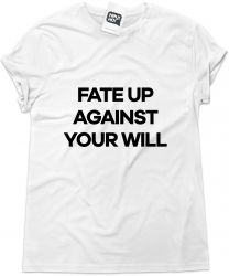 Camiseta e bolsa ECHO & THE BUNNYMEN - Fate up against your will