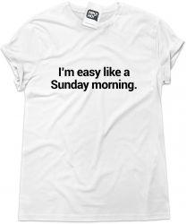 Camiseta e bolsa FAITH NO MORE - I'm easy like a Sunday morning