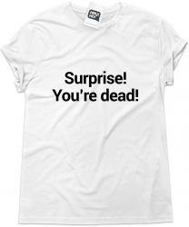 Camiseta e bolsa FAITH NO MORE - Surprise you're dead