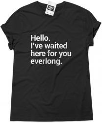 Camiseta e bolsa FOO FIGHTERS - Hello (Everlong)