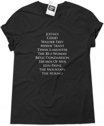 Camiseta e bolsa GAME OF THRONES - Arya's Kill List