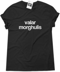 Camiseta e bolsa GAME OF THRONES - Valar Morghulis