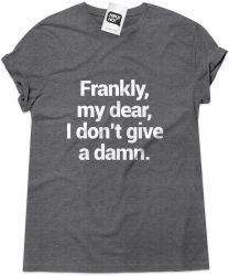 Camiseta e bolsa GONE WITH THE WIND - Frankly my dear
