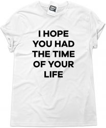 Camiseta e bolsa GREEN DAY - I hope you had the time of your life