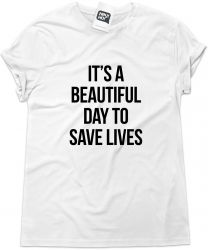 Camiseta e bolsa GREY'S ANATOMY - It's a beautiful day