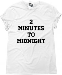 Camiseta e bolsa IRON MAIDEN - 2 minutes to midnight