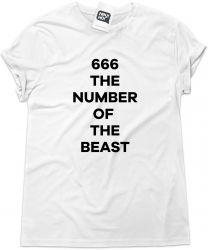Camiseta e bolsa IRON MAIDEN - 666 the number of the beast