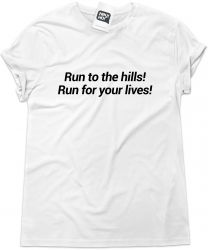 Camiseta e bolsa IRON MAIDEN - Run to the hills