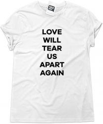 Camiseta e bolsa JOY DIVISION - Love will tear us apart again