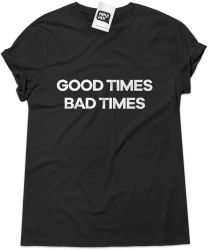 Camiseta e bolsa LED ZEPPELIN - Good times Bad times
