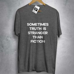 OFERTA - BAD RELIGION - Stranger than fiction - CAMISETA MESCLA ESCURO - Tamanho GG