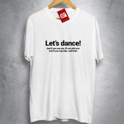 OFERTA - DAVID BOWIE - Let's dance - Camiseta BRANCA - Tamanho EXG