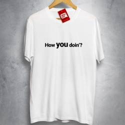 OFERTA - FRIENDS - How You Doin - Camiseta BRANCA - Tamanho G