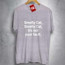 OFERTA - FRIENDS - Smelly Cat - CAMISETA MESCLA CLARA - Tamanho P