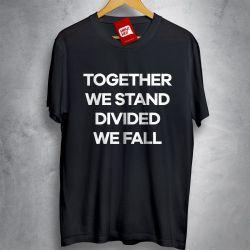 OFERTA - PINK FLOYD - Together we stand - CAMISETA PRETA - Tamanho EXG