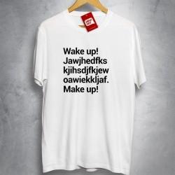 OFERTA - SYSTEM OF A DOWN - Wake up - Camiseta BRANCA - Tamanho M