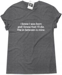 Camiseta e bolsa PEARL JAM - I know I was born