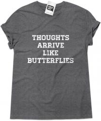 Camiseta e bolsa PEARL JAM - Thoughts arrive like butterflies