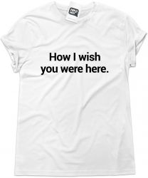 Camiseta e bolsa PINK FLOYD - How I wish you were here